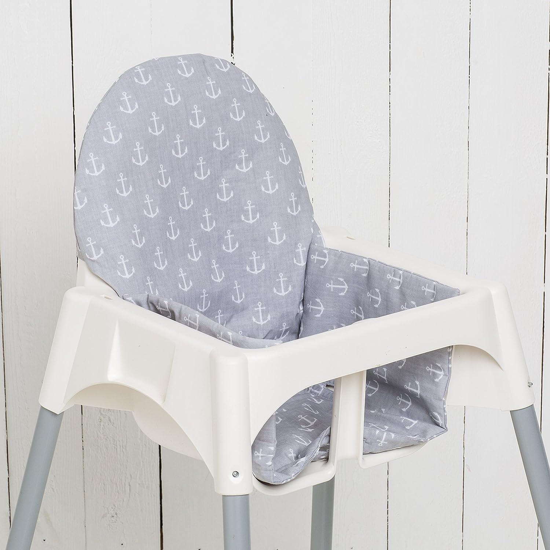 Tablett f/ür Babyhochstuhl IKEA 5054809323230 ANTILOP wei/ß