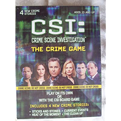 CSI: Crime Scene Investigation - The Crime Game: Toys & Games