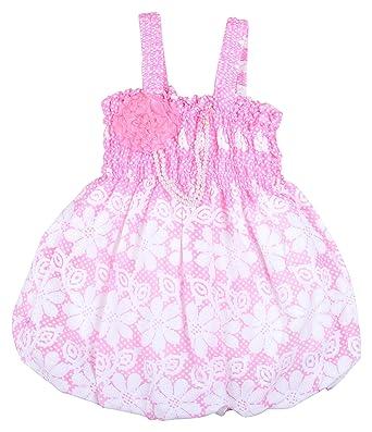 0ba9cbdc3 Kuchipoo Baby Girl's Cotton A-Line Dress