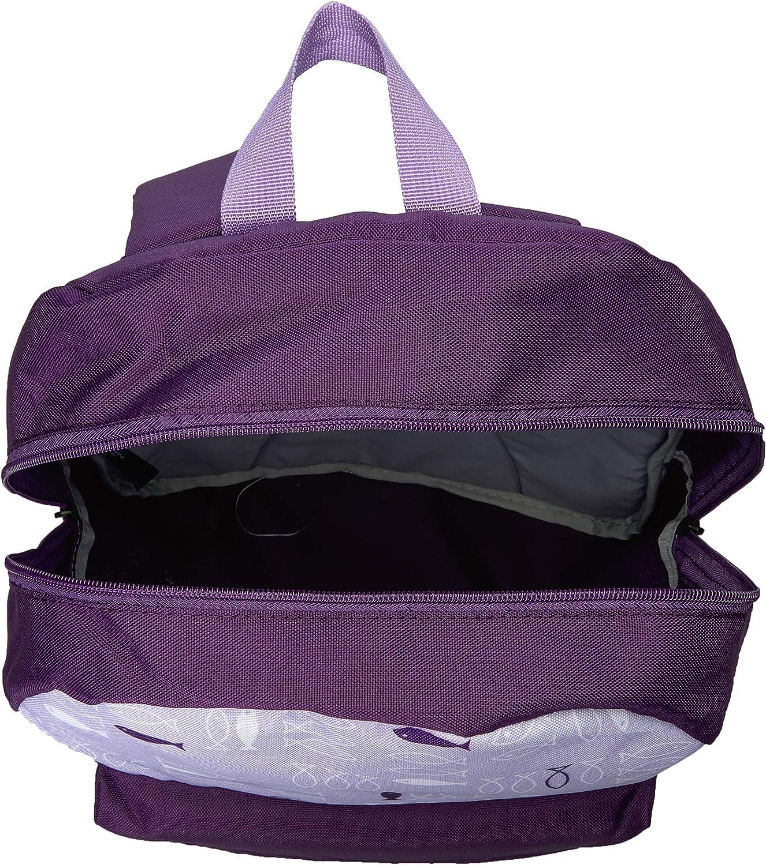 One Size Grape Nautica Girls Big Fashion Print Small Backpack for Kids