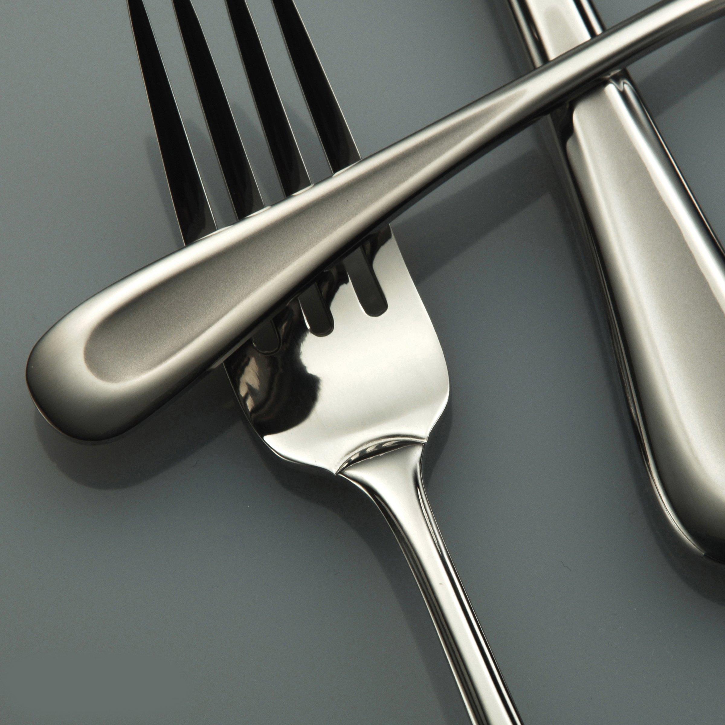 Oneida Satin Sand Dune Dinner Forks, Set of 4 by Oneida (Image #3)