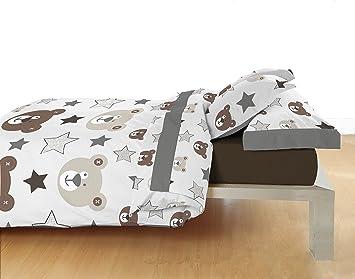 cb deco Sábanas de Cuna Ref.Osos Disponibles en Varios tamaños (70 x 160 cm. Compatible IKEA): Amazon.es: Hogar