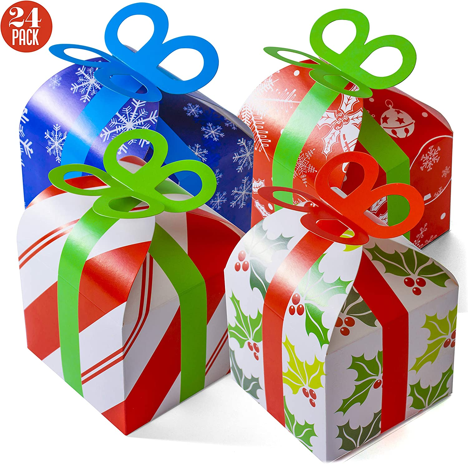 Special Delivery Personalised Christmas Eve Box Xmas Gift Favour Present Bow
