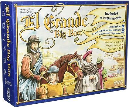 z man games el grande big box