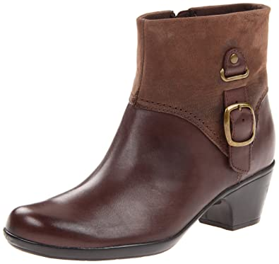 Clarks Ingalls Nile Womens Ankle Boots Brown 10