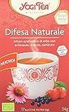 Yogi Tea Difesa Naturale Infuso Di Erbe - 17 Bustine Filtro [34 gr] - [confezione da 3]