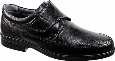 LUISETTI 26854 Negro - Zapato Velcro Piel Profesional Fabricado en ...
