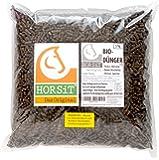 HORSIT Dünger | Für Blumen • Garten • Kräuter | Pferdemist Pellets | Organisch und biologisch | Rasendünger im 5 kg Beutel