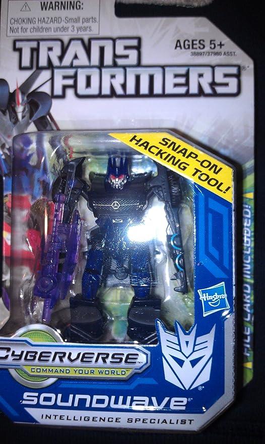 Hasbro Transformers Prime Cyberverse Class Soundwave