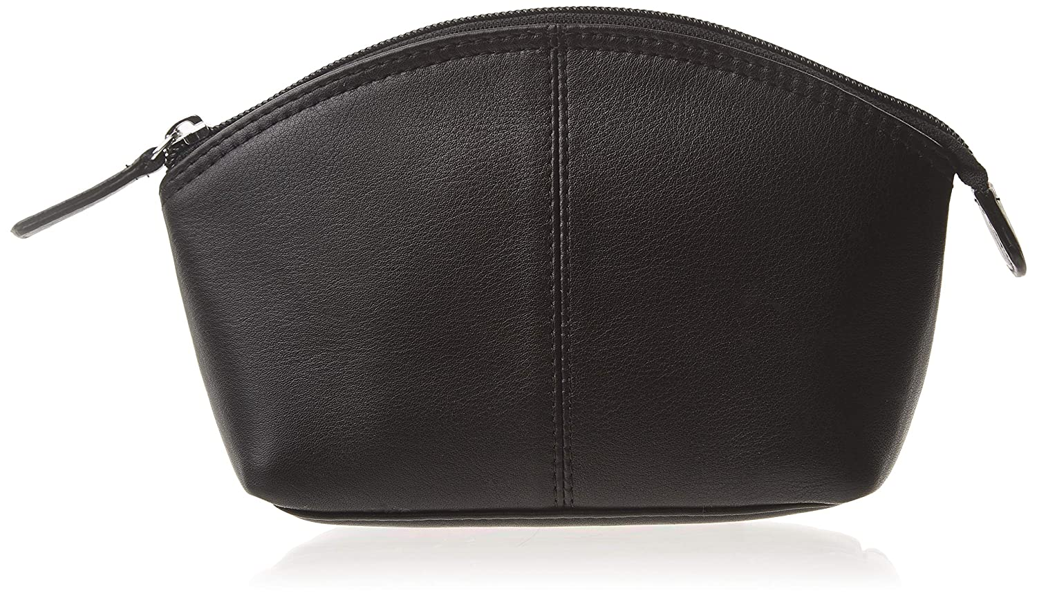 ili New York 6480 Leather Cosmetic Makeup Case