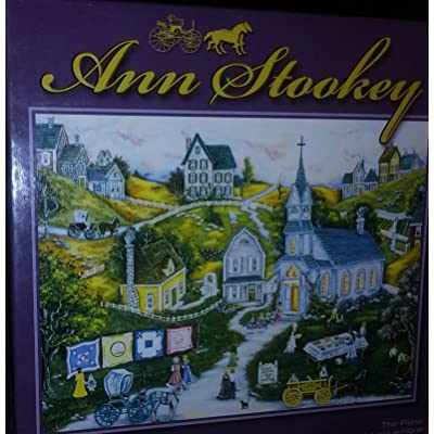 Ann Stookey 500 Piece Jigsaw Puzzle: The Picnic by Sure-Lox: Toys & Games
