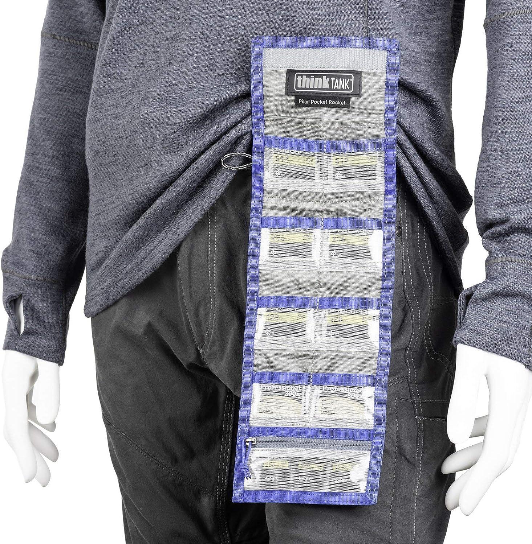Negro Black THINK TANK Pixel Pocket Rocket Messenger Bag 75 cm