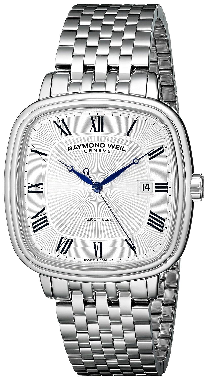 Raymond Weil Men s 2867-ST-00659 Maestro Analog Display Swiss Automatic Silver Watch
