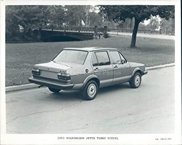 1983 Photo Volkswagon Jetta Turbo Diesel Transportation Two Door Vintage 8x10