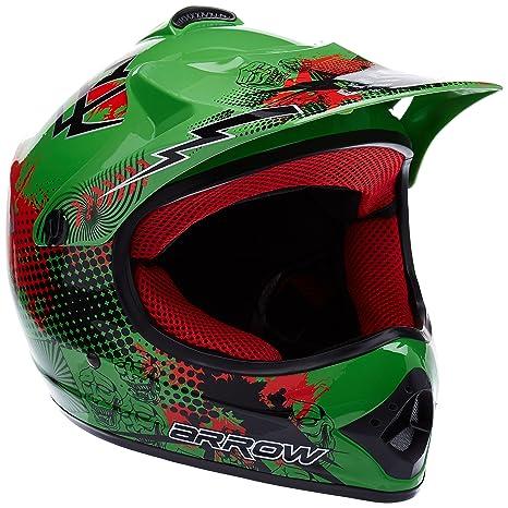 "Armor · AKC-49 ""Green"" (green) · Casco Moto-Cross"