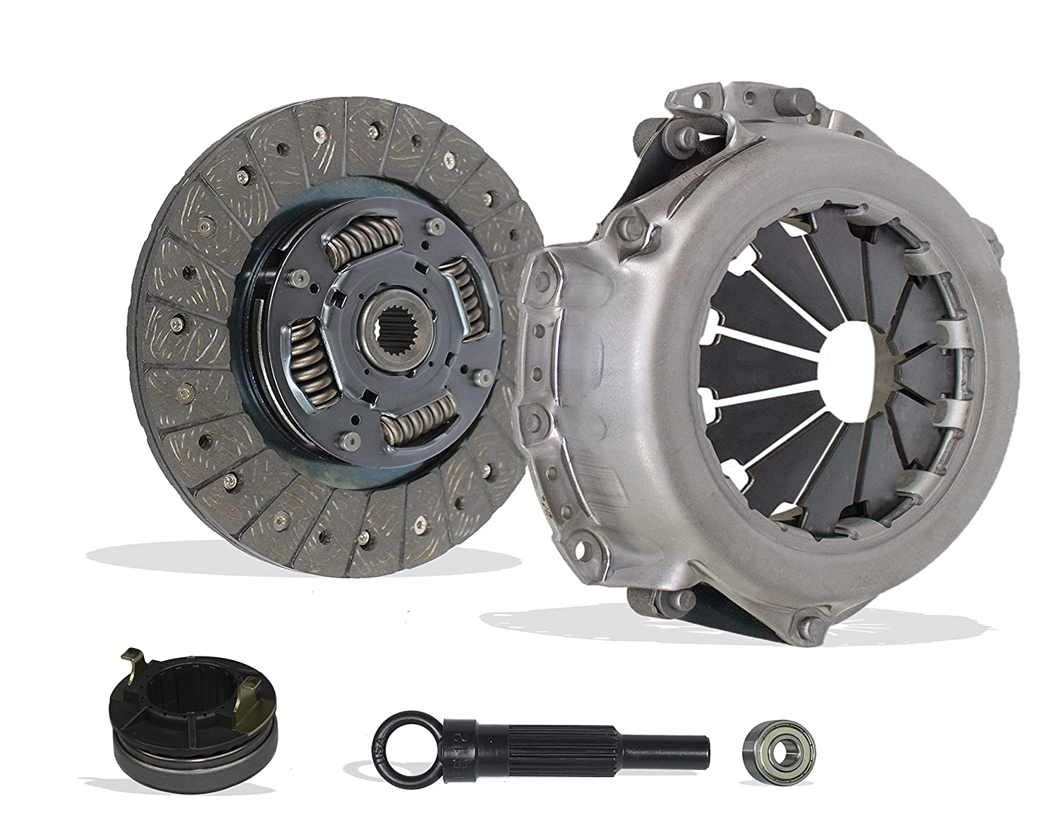 Amazon.com: Clutch Kit Works With Hyundai Accent Kia Rio Base Lx Sx Gls Gs Se Hatchback Sedan 2006-2011 1.6L l4 GAS DOHC Naturally Aspirated: Automotive