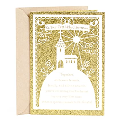 Amazon dayspring holy communion greeting card its your first dayspring holy communion greeting card its your first holy communion m4hsunfo