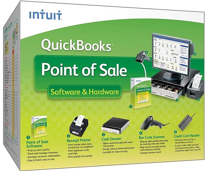 Amazon com: QuickBooks Point of Sale Software & Hardware 9 0
