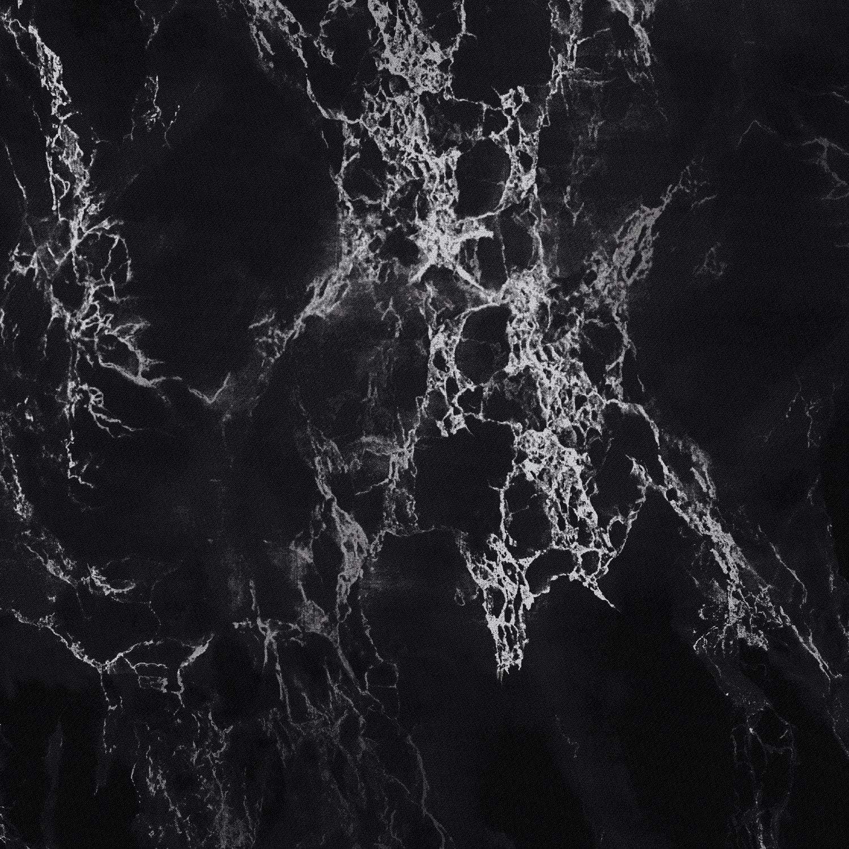 Wake In Cloud Black with Gray Grey White Streaks Modern Pattern Printed Black Marble Comforter Set Soft Microfiber Bedding 3pcs, King Size