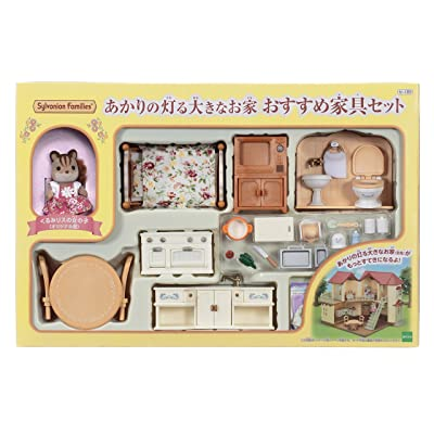 Big house recommended furniture set that lit the Sylvanian Family Room set Akari