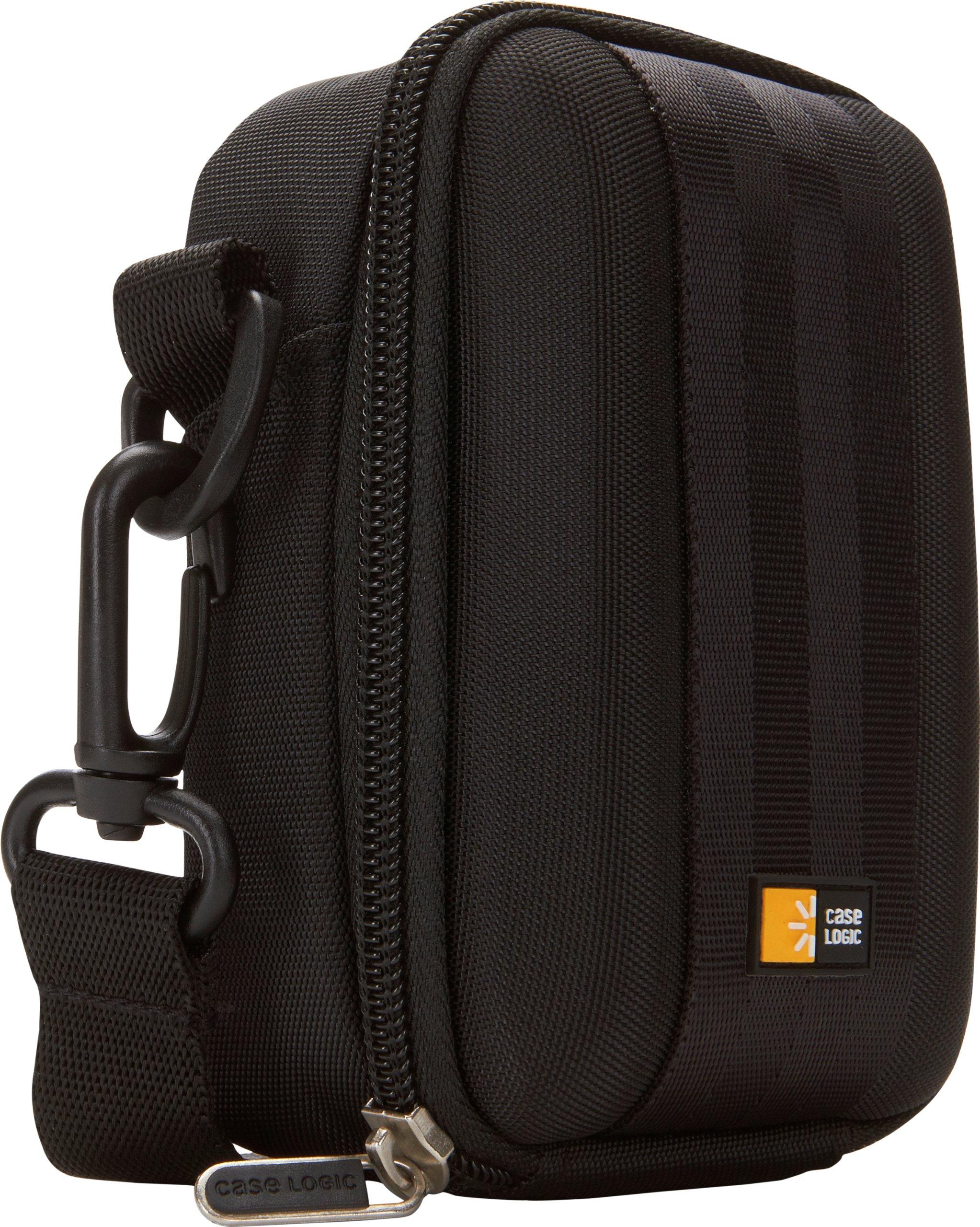 Case Logic QPB-202 EVA Molded Flash Camcorder or Medium Zoom Camera Case (Black)