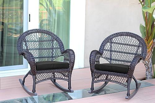 Jeco Wicker Rocker Chair