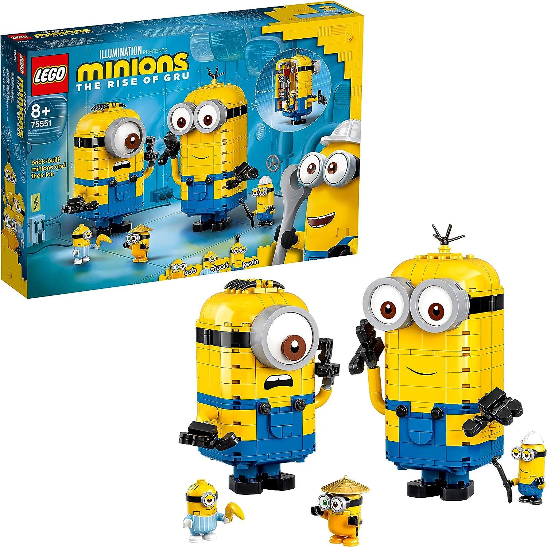 レゴ(LEGO) ミニオンズ ミニオンと秘密基地 75551