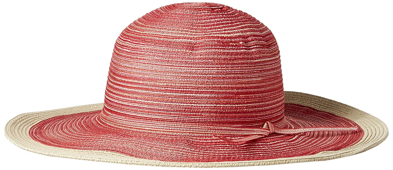 San Diego Hat Company Women s 4-inch Brim Sun Hat with Self Tie Contrast ce0d666ddb56