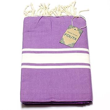 Fouta de toalla de sauna Pest veces peshte veces – Extra Grande 197 x 100 cm