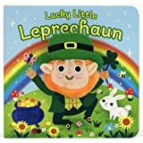 Lucky Little Leprechaun (Plush Finger Puppet Board Book - St. Patrick's Day Gifts for Children Ages 0-4)