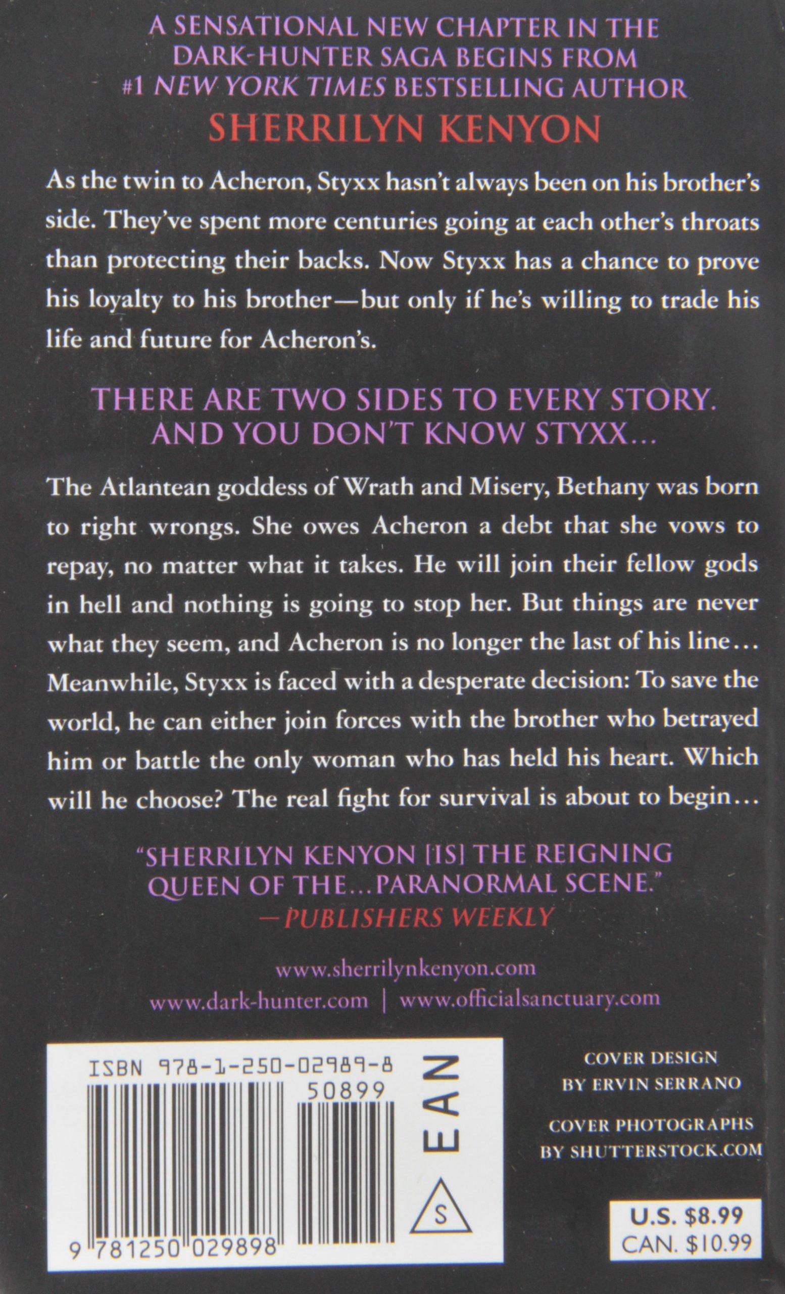 Styxx (darkhunter Novels): Sherrilyn Kenyon: 9781250029898: Amazon:  Books