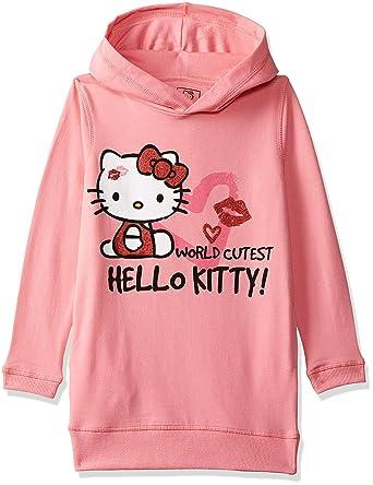 8a94d638e Hello Kitty By Kidsville Girls' Sweatshirt: Amazon.in: Clothing ...