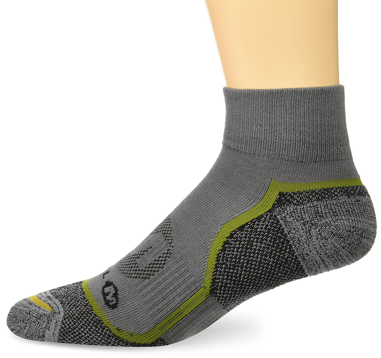 Merrell Mens Glove Quarter Sock brown heather Shoe Size 9.5-12 MEMF17F005-01