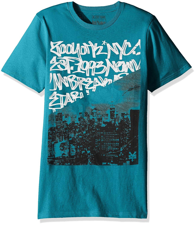 Zoo York Herren Divider Short Sleeve Tee Skate-T-Shirt