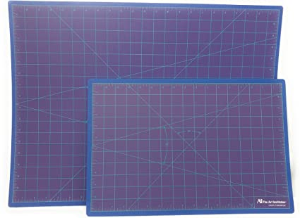 Amazon Com Cutting Mat Set 11 5 X 17 And 18 X 24 For Quilting Sewing Scrapbooking And Arts Crafts