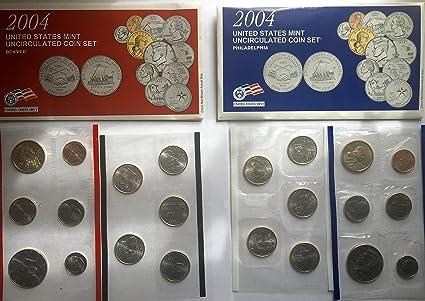 Mint Set 22 coin set 2004 U.S