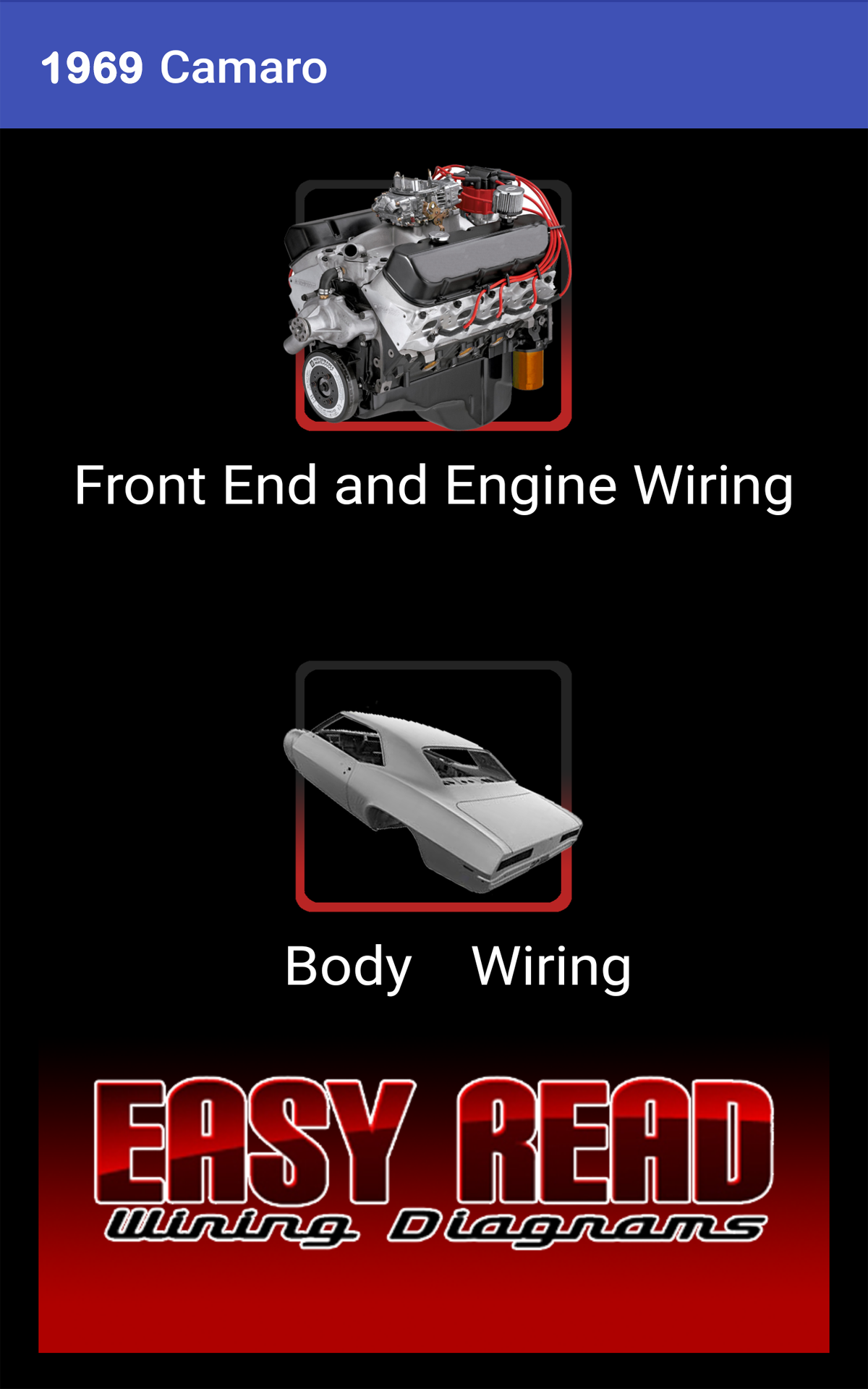 Amazon Com 1969 Camaro Wiring Diagram Appstore For Android