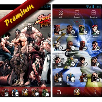 Street Fighter Go Launcher Theme
