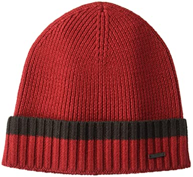 7dd1e9069c3 Amazon.com  Hugo Boss BOSS Men s Frisk Striped Wool hat