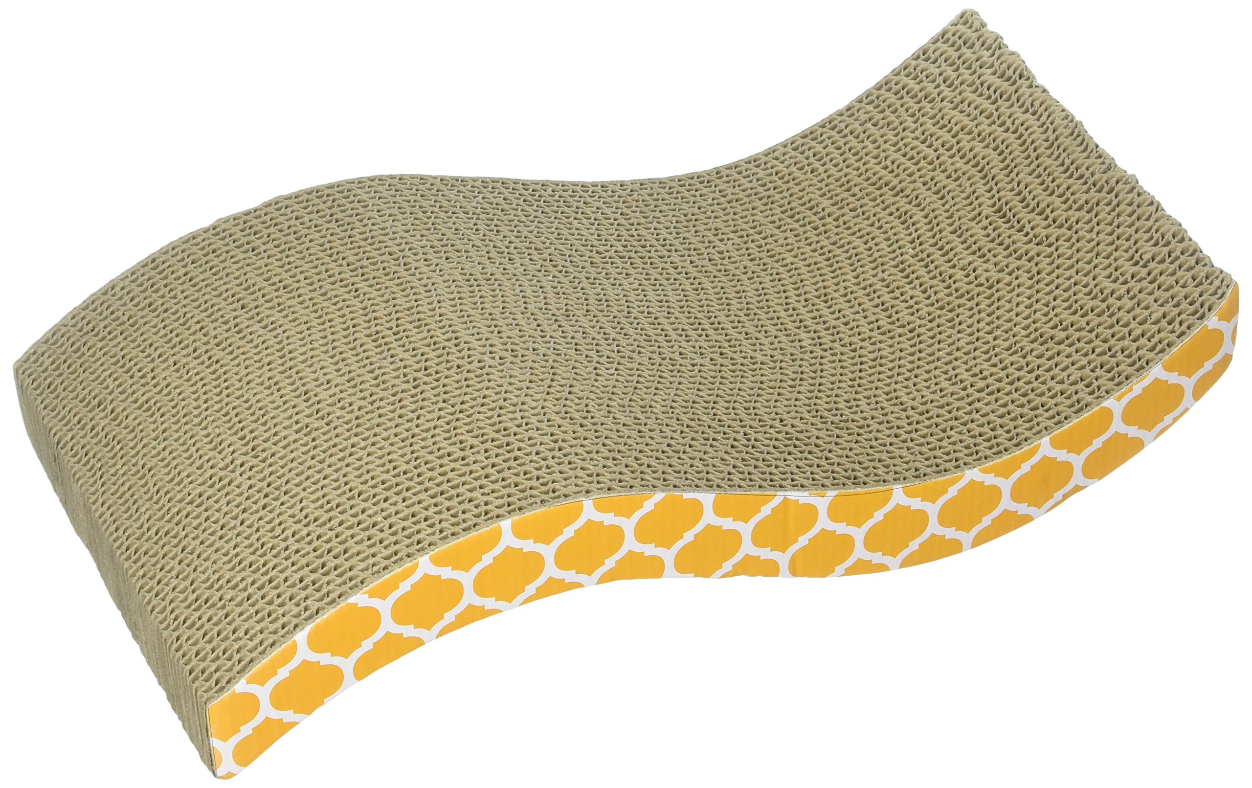 OurPets The Wave Curved Catnip Cat Scratcher