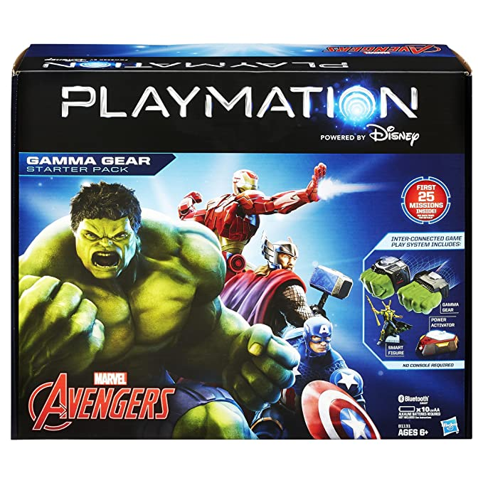 Playmation Marvel Avengers Starter Pack Gamma Gear by ...