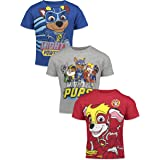 Nickelodeon Paw Patrol Chase Marshall 3 Pack Short Sleeve Tees