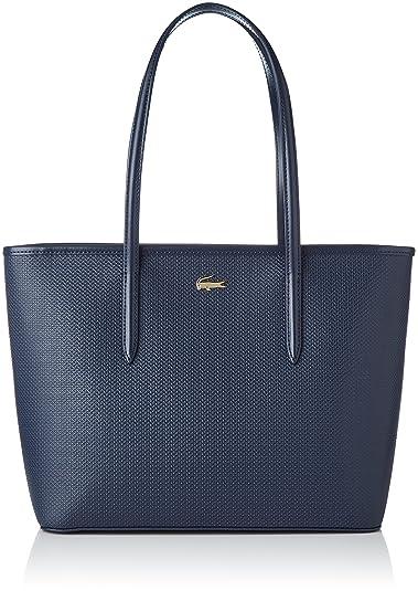 5d81946b39 Lacoste femme Nf2116ce Cabas Bleu (Peacoat): Amazon.fr: Chaussures ...