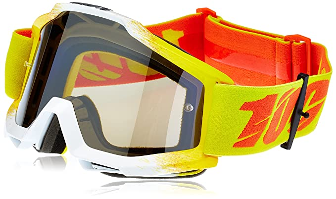 100/% Prozent Racecraft Goggle Brille Klar DH MTB MX Downhill Mountainbike Cross