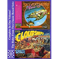 Sky Galleons of Mars & Cloudships & Gunboats (Space 1889)