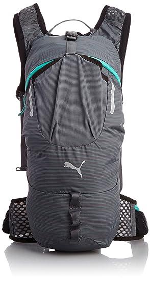 5d654d2fd39 Puma PR Nightcat Running Turbulence Pool Green Rucksack Backpack Reflective  Silver 24 x 48 x 13