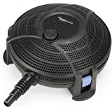 Aquascape Submersible Pond Water Filter   95110,Black