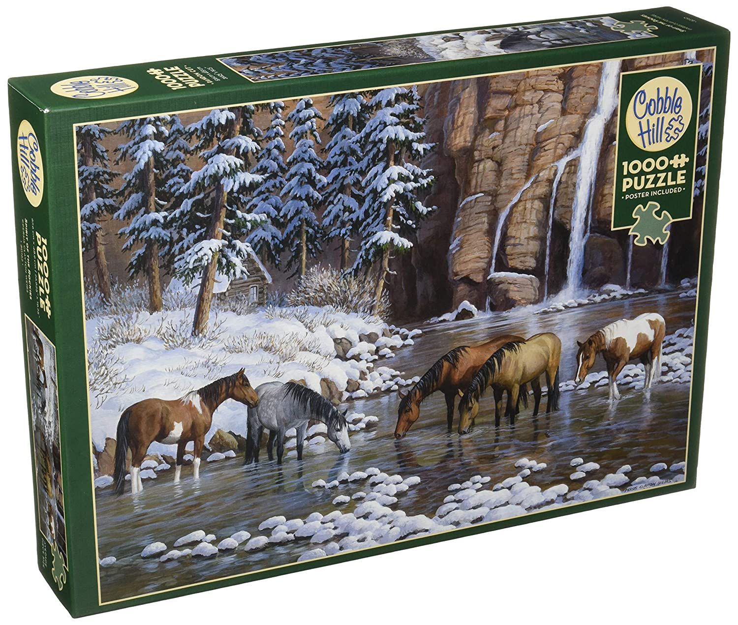 Cobblehill 80162 1000 pc Spirit of The Rockies Puzzle Various