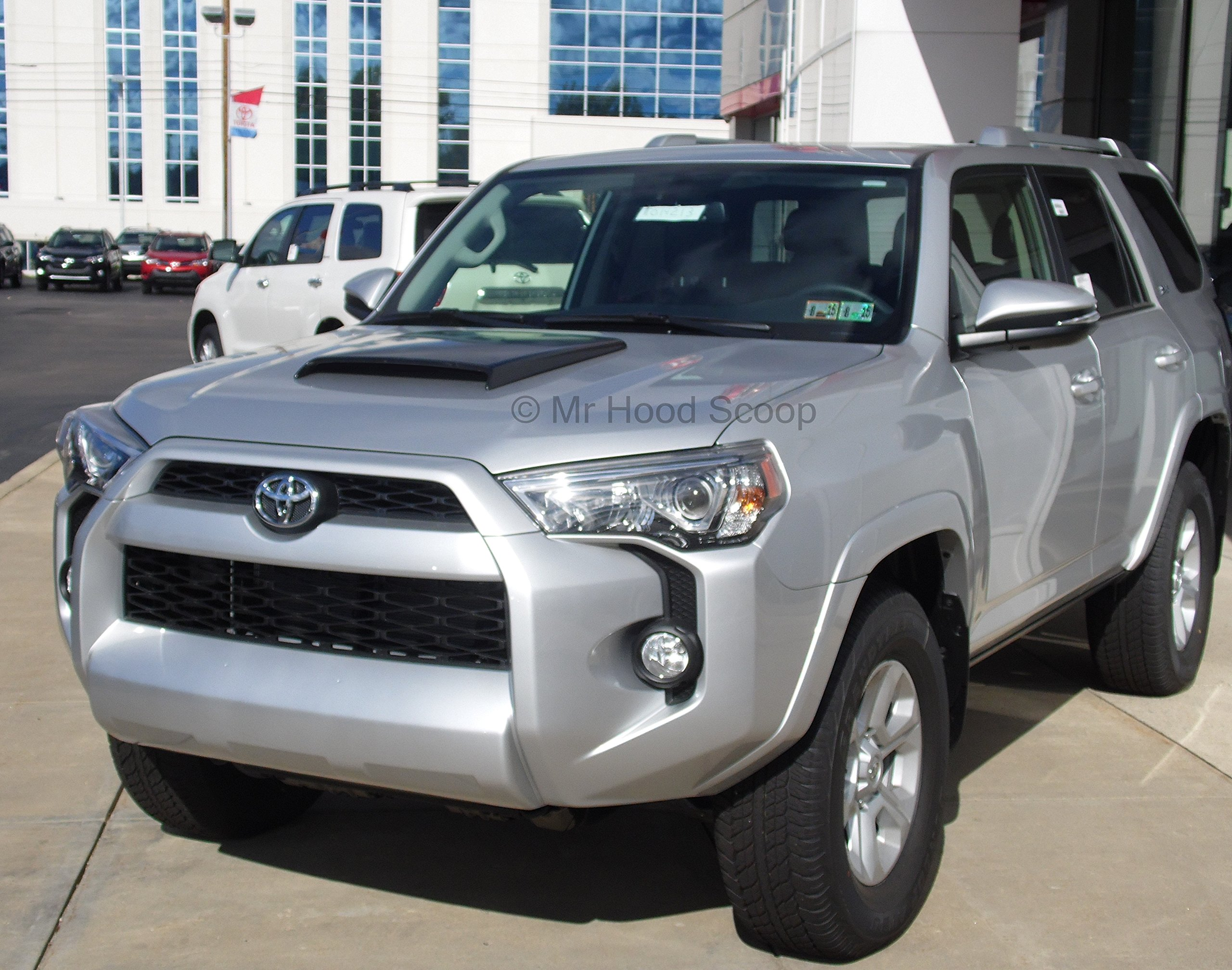 1984-2017 Hood Scoop for Toyota 4runner by MrHoodScoop UNPAINTED HS003 by Xtreme Autosport