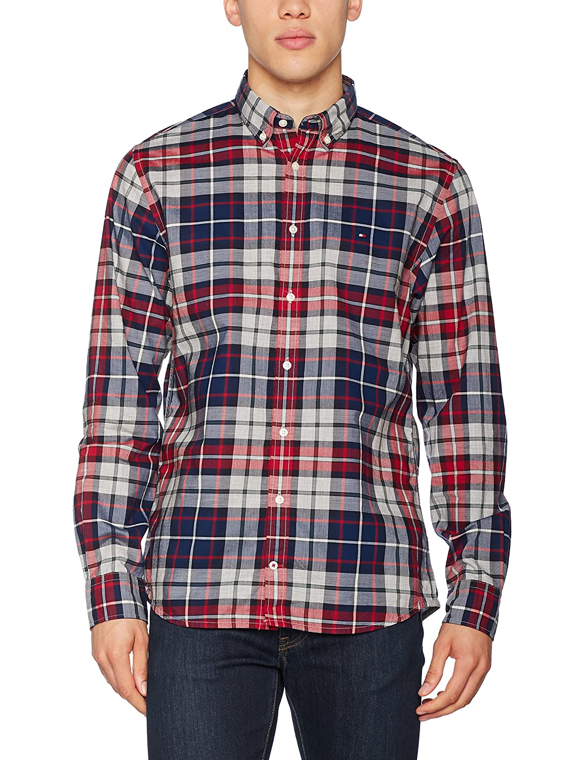 Tommy Hilfiger Mens Casual Shirt